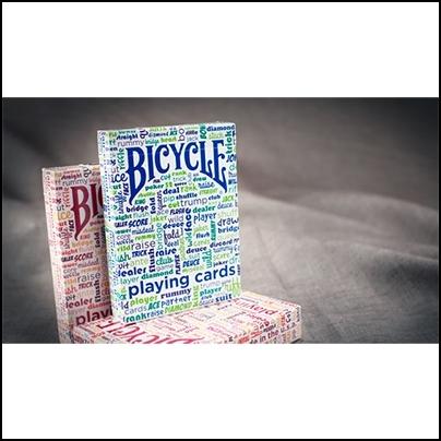 Bicycle Table Talk (orange)