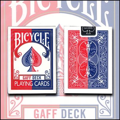 Gaff Effect Deck (dos rouges)