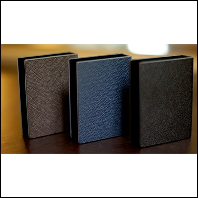 LN Card Guard cuir (bleu)