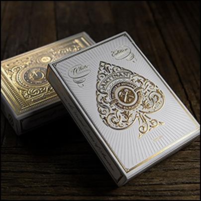 Artisan Playing Cards (blanc)