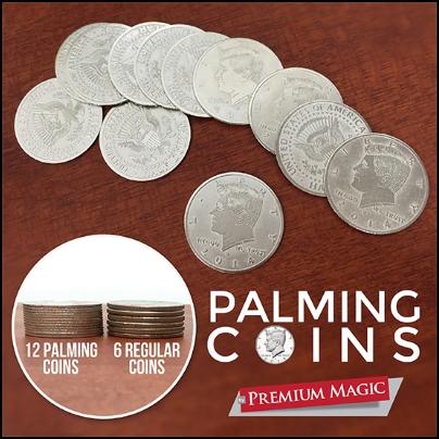 Palming Coins Set (12 pi?ces)