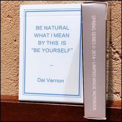 Magic Notebook Deck (sky blue)