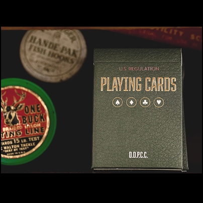 Vintage Plaid Playing Cards - Arizona Red (2e ?dition)