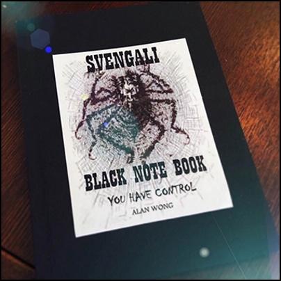 Blank Svengali Notebook (small)