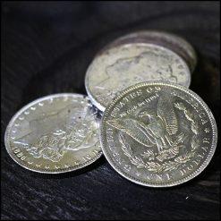 Pi?ce un dollar Morgan (argent)