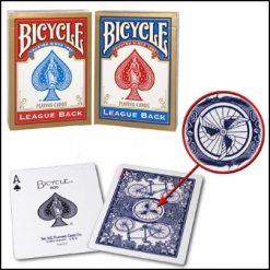Jeu Bicycle League Back (rouge)