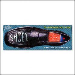 carte à la chaussure