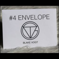 Number 4 envelope