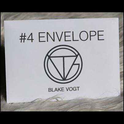 Number 4 envelope