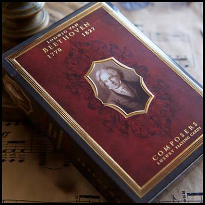 Jeu de cartes Beethoven