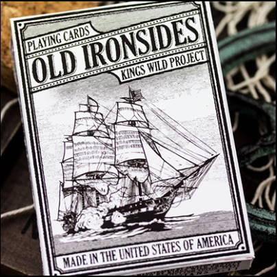 Jeu de cartes Old Ironsides