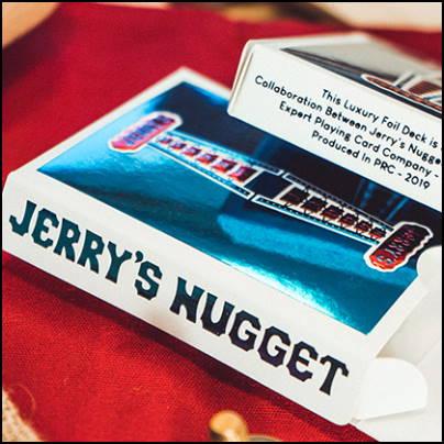 Jerry's nugget blue foil