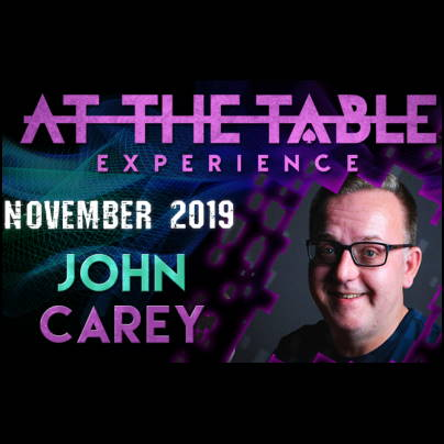 At The Table - John Carey