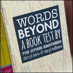 Words Beyond a Book-Test
