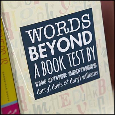 Words Beyond a Book-Test