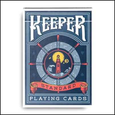 Jeu de cartes Keeper bleu