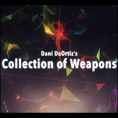 Dani Daortiz's collection of weapons