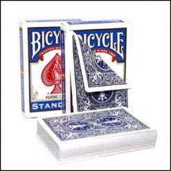 bicycle double dos bleu