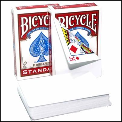 bicycle dos blancs