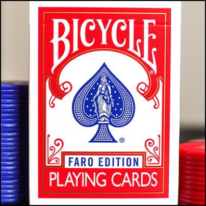 Bicycle faro rouge