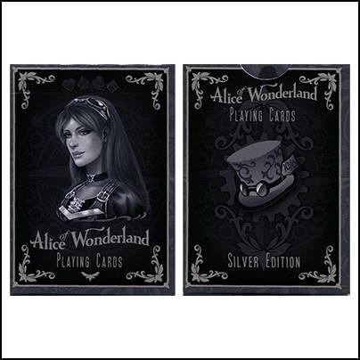 Jeu Alice of Wonderland silver