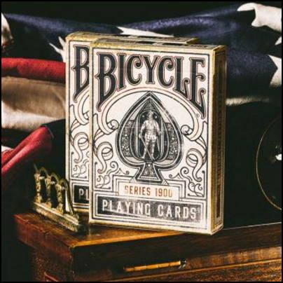 Jeu Bicycle 1900 bleu
