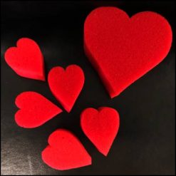 Coeurs en éponge - Goshman