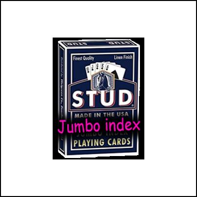 Jeu Stud index jumbo bleu