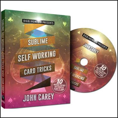 Sublime Self Working Card Tricks - John Carey