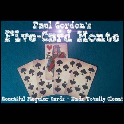 Five Card Monte - Paul Gordon