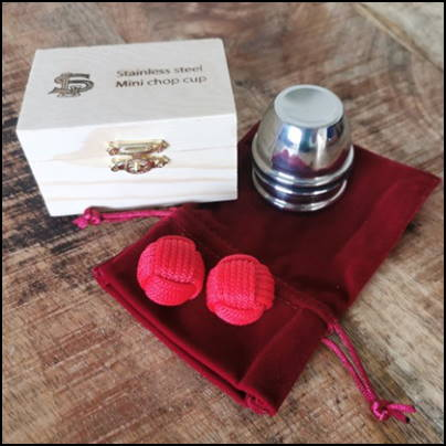 Mini chop cup acier inox - Leo Smetsers