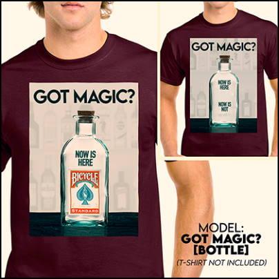 3DT-shirt - Got magic ?