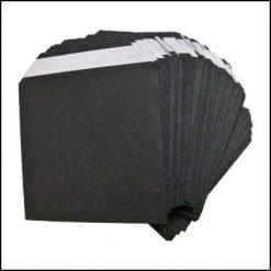 Enveloppes noires sans fenêtres Nest of Wallets