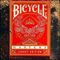 Jeu Bicycle Masters rouge Legacy Edition