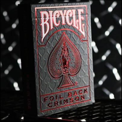 Jeu Bicycle Crimson Luxe version 2