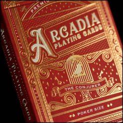 Jeu Arcadia The Conjurer rouge