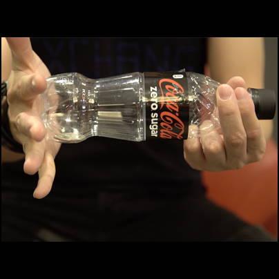 Banked Coke Zero