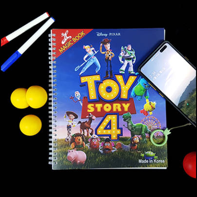 Magic coloring book - Toy Story 4
