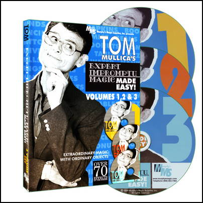 Tom Mullica - Expert Impromptu Magic volumes 1 - 2 - 3