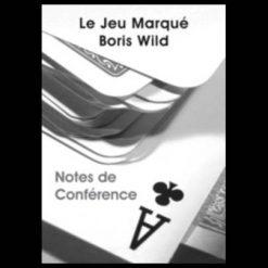 Boris Wild - Notes de conférence jeu marqué