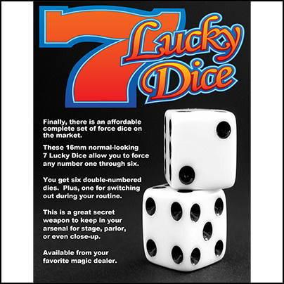 Lucky dice Diamond Jim Tyler