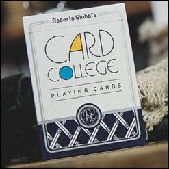 Jeu card college bleu - Roberto Giobbi