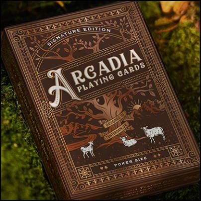 Jeu Arcadia signature edition marron