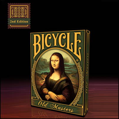 Jeu Bicycle Old Masters 2ème édition