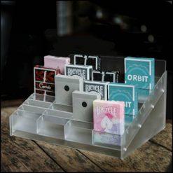 présentoir 40 jeux plexiglas