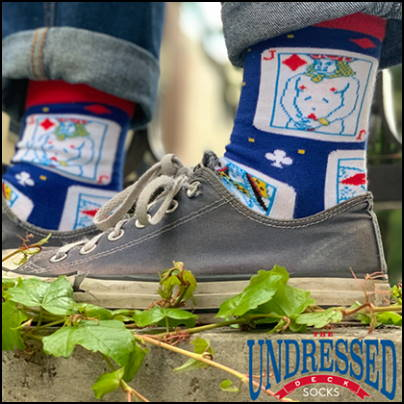 chaussettes the undressed deck