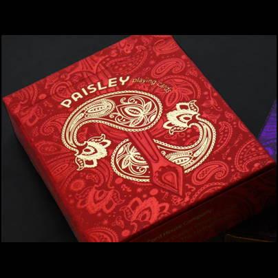 jeu paisley royals rouge