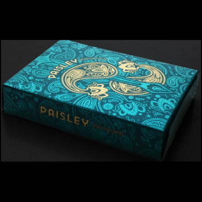 jeu paisley royals turquoise