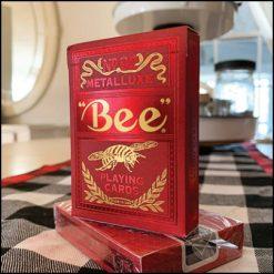 Jeu Bee rouge MetalLuxe