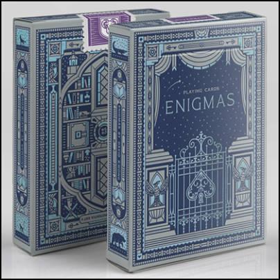 Jeu Enigmas bleu